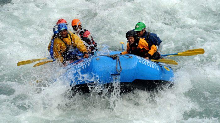 Rafting in Nepal 1